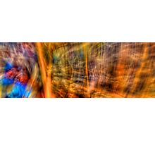 Comic Frenzy - Kinetic Abstract Photographic Print
