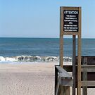 Nude Beach Sign by Scott Evers