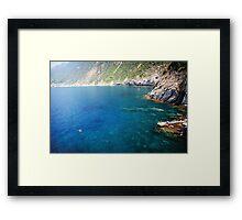 Cinque Terre views Framed Print