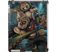 Sloth and Chunk vs. The Giant Squid iPad Case/Skin