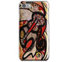 iphone case - rhythm in red iPhone Case/Skin