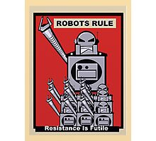 Robot Poster  Photographic Print