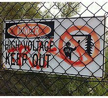 High Voltage by Bento Photographic Print