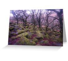 Wistman's Wood - Dartmoor Greeting Card