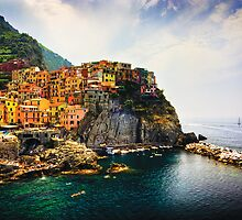 Manarola by Kelly Kingston