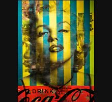 Striped Marilyn Unisex T-Shirt
