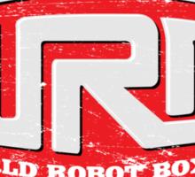 World Robot Boxing Sticker