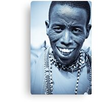 Maasai Warrior  Canvas Print
