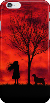 Red Sky At Night - IPhone Design by Rookwood Studio ©