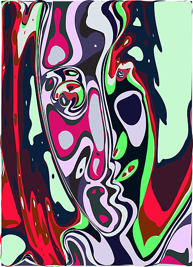 Abstract face 10 by ChrisButler