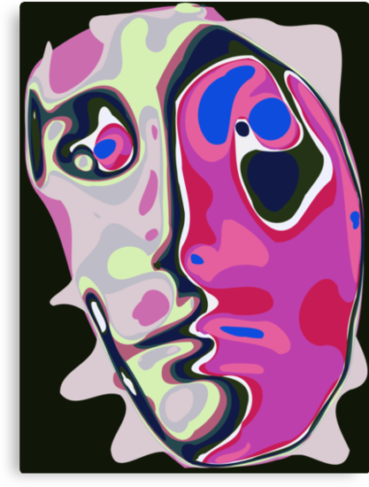 Abstract face 12 by ChrisButler