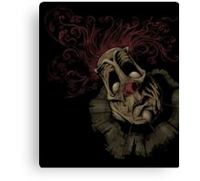 Dark Clown Canvas Print