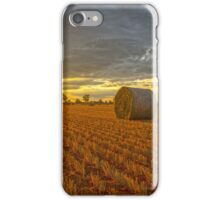 Sunrays at Bales..... iPhone Case/Skin