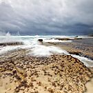 Low Tide At The Sandpatch II - Albany Western Australia by Chris Paddick