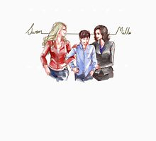Swan Mills Family (Once Upon a Time) Women's Fitted V-Neck T-Shirt
