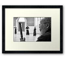 Grand Master Framed Print