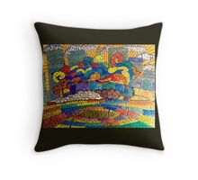 The Hippest Show in the Universe Throw Pillow