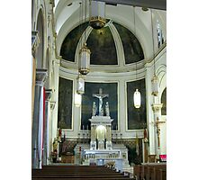 Altar of the Church of the Precious Blood Photographic Print