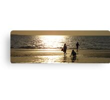Childs Play Panorama 1 Canvas Print