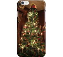 Old-Fashioned Colonial Christmas Holiday iPhone Case/Skin