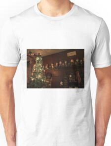 Old-Fashioned Colonial Christmas Holiday Unisex T-Shirt