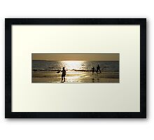Childs Play Panorama 7 Framed Print