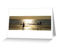 Childs Play Panorama 7 Greeting Card