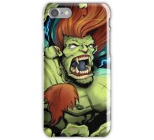 Blanka Street Fighter Skate Deck iPhone Case/Skin