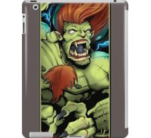 Blanka Street Fighter Skate Deck iPad Case/Skin