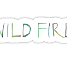 Wild Fire Sticker