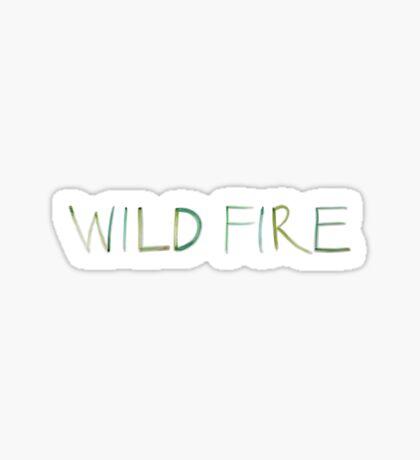 Wild Fire Sticker