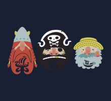 All Abeard! One Piece - Long Sleeve
