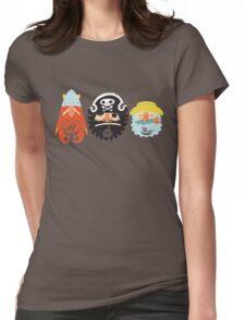 All Abeard! Womens Fitted T-Shirt