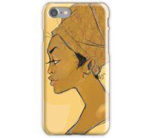 Lady Fall  iPhone Case/Skin