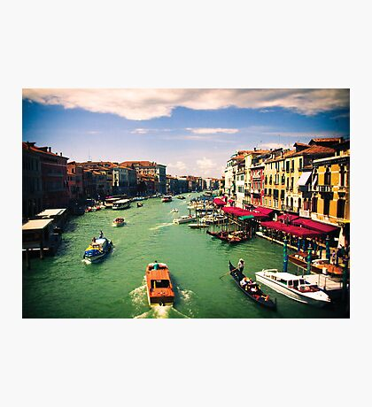 Grand Canal, Venice Photographic Print
