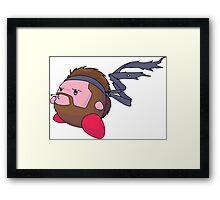 Kirby Snake Framed Print