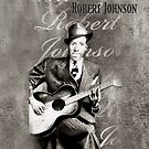 Robert Johnson iPhone Case by Carrie Jackson