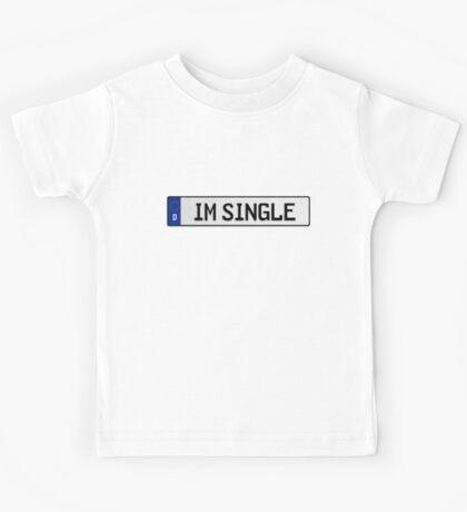 Euro plate - im single Kids Tee