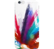 "the dancing Peacock / ""color"" iPhone Case/Skin"