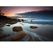 Blackmans Bay Rocks Sunrise #6 Photographic Print