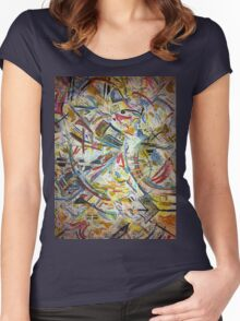 Avian Chaos Women's Fitted Scoop T-Shirt