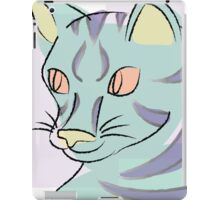 Pastel Cat iPad Case/Skin