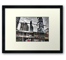 flower power in Central Hong Kong Framed Print