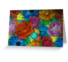 petals and colors and everything nice Greeting Card