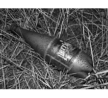 Perrier bottle Photographic Print