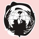 Messed Up Anonymous Logo by philbotic