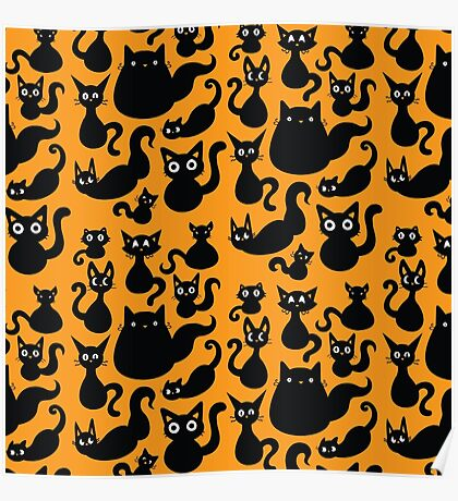 Black Cats Poster
