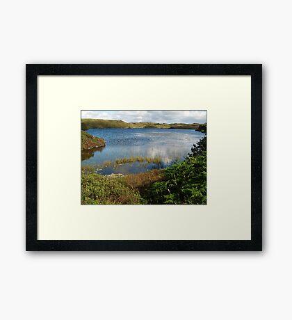 Kiltooris Lough Framed Print