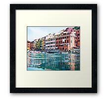Vernazza, Cinque Terre Framed Print