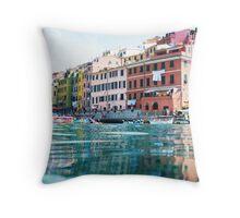 Vernazza, Cinque Terre Throw Pillow